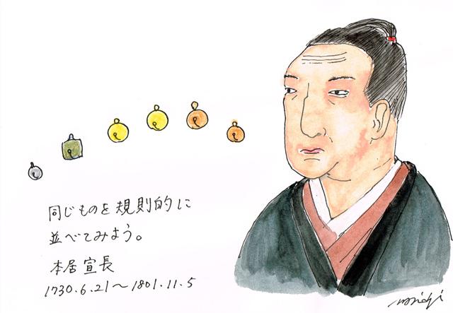 6月21日本居宣長