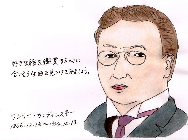 12月16日ワシリー・カンディンスキー